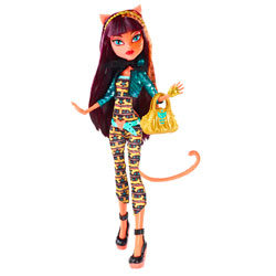 Monster High Poupées Transe-Fusion Cleolie