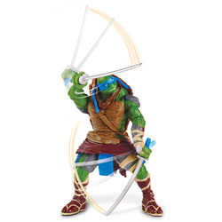 Tortues Ninja Movie Figurine Deluxe à Fonction Leonardo