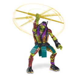 Tortues Ninja Movie Figurine Deluxe à Fonction Donatello