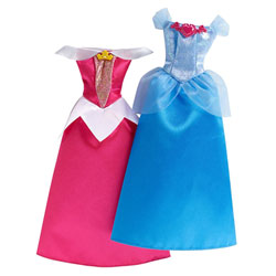 Robes pailletées Disney Cendrillon et La Belle au Bois Dormant