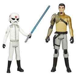 Star Wars Rebels Figurine Ezra Bridger et Kanan Jarrus