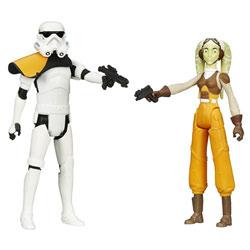 Star Wars Rebels Figurine Hera Syndulla et Commandant Stormtrooper