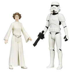 Star Wars Rebels Figurine Kuke Skywalker et Princesse Leia