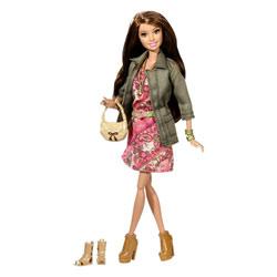 Barbie Amies Mode Luxe Teresa Robe à Fleurs