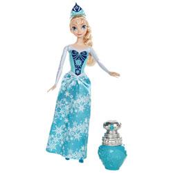 Poupée Reine des Neiges Elsa Couleur royale