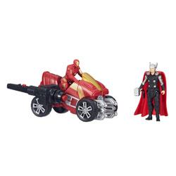 Avengers Figurine Deluxe 5 cm Thor & Iron Man