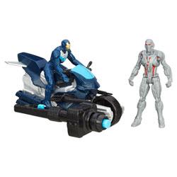 Avengers Figurine Deluxe 5 cm Ultron & Iron Leader
