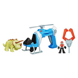 Jurassic World DLX Véhicules Dino Tracker Copter