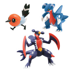 Pokemon XY Méga-Knakrack, Dartiri, Knarksel