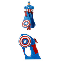Flying Heroes Avengers Capitain América