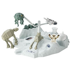 Hot Wheels Station Intergalactique Star Wars Base Echo