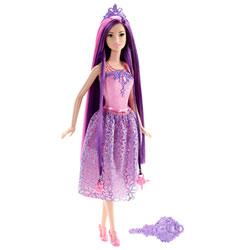Barbie Princesse chevelure magique violette