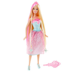 Barbie Princesse chevelure magique blonde