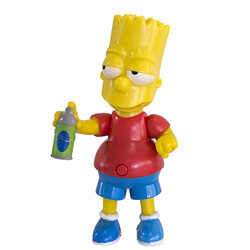 Figurine Parlante Simpsons - Bart