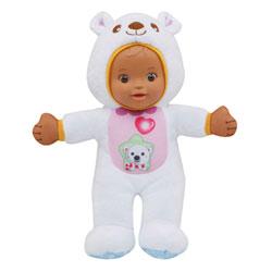 Poupon p'tit bébé déguisé ourson - Little Love