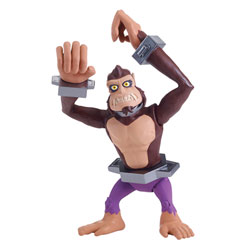 Monkey Brains figurine Tortues Ninja 12cm karaté