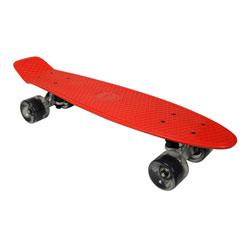 """Skateboard vintage rouge 22,5"""""""