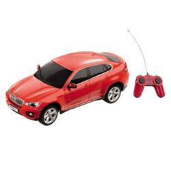 BMW X6  rouge radiocommandée 1/24