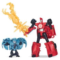 Transformers Minicon Battle : Sideswipe VS Decepticon Anvil