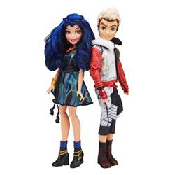 Coffret duo Disney Descendants : Evie et Carlos