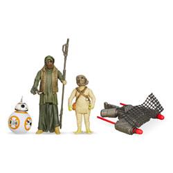 Star Wars pack 2 figurines 10cm BB8 et Jakku