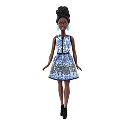 Barbie Fashionistas 25 Blue Brocade