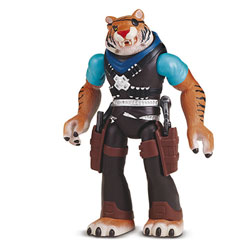 Tiger Claw Tortue Ninja mutation figurine 12cm