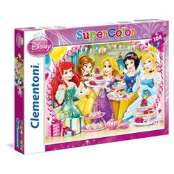 Puzzle Princesses Disney 104 pièces - Disney Princesses