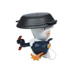 Figurine sonores Lapins Crétins Chicken surprise