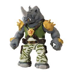 Figurine articulée Tortues Ninja 12 cm Rocksteady