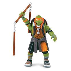 Tortues Ninja 2 - Mikey figurine deluxe 14cm