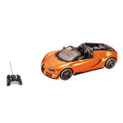 Bugatti Grand Sport Radiocommandée 1/18ème orange