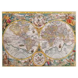 Puzzle 1500P Mappemonde