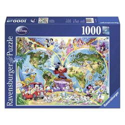 Puzzle 1000P Le monde de Disney