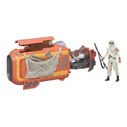 Star Wars véhicule léger deluxe Jakku