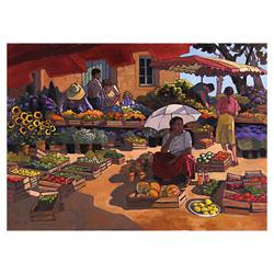Puzzle 2000P Nathan Femmes au marché