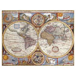 Puzzle 2000P Nathan Planisphère historique