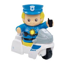 Personnage métier policier - Tut Tut Copains