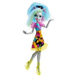 Monster High-Coiffure électrisante Silvi Timberwolf