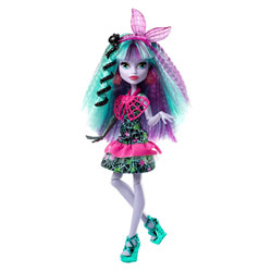 Monster High coiffure monstrueuse Twyla