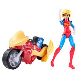 Figurine et véhicule DC Super Hero Girls Wonder Woman