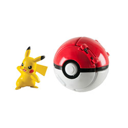 Pokemon throw'n pop pokéball - Pokéball avec pokémon Pikachu