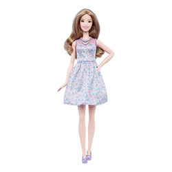 Barbie Fashionistas n°53 Robe mauve