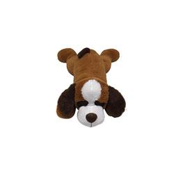 Peluche chien couché 80 cm
