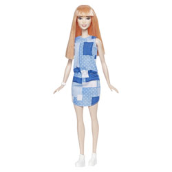 Barbie Fashionistas n°60 robe bleue