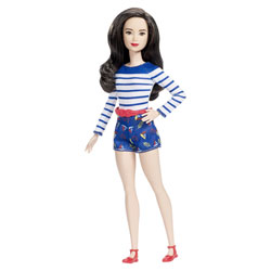 Barbie Fashionistas n°61 short bleu