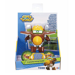 Super Wings-Figurine transformable Todd