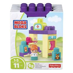 Mega Bloks-Coffret briques vétérinaire