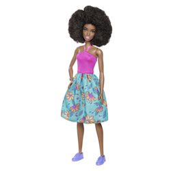 Barbie Fashionistas N°59 robe colorée