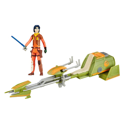 Star Wars-Véhicule Erza Bridger's Speeder